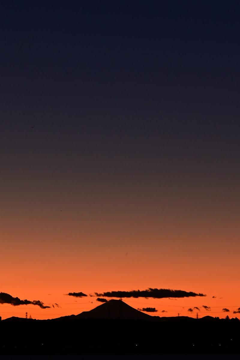 印旛沼サンセットヒルズからトワイライト1